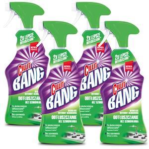 Cillit Bang Odtłuszczanie Bez Szorowania Spray 4 x 750ml