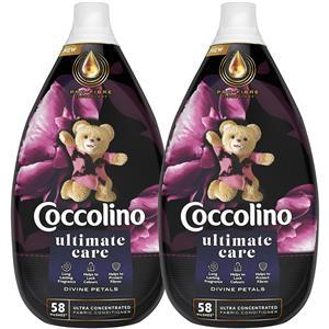 Coccolino Perfume Deluxe Divine Petals Płyn do Płukania 116pr 2 x 870ml