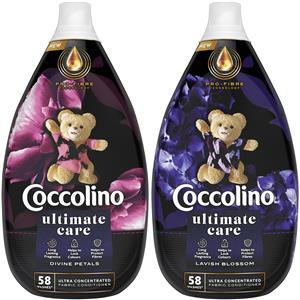 Coccolino Ultimate Care Divine Petals, Lavish Blossom Płyn do Płukania 116pr 2 x 870ml