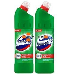 Domestos Pine Fresh Żel do Wc Zestaw 2 x 1,25L