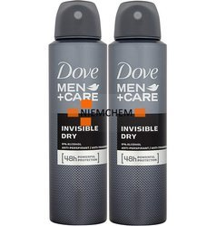 Dove Men Care Invisible Spray Dezodorant 2 x 150ml