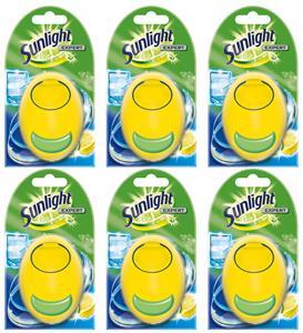Sunlight Expert Odświeżacz Zapach do Zmywarki Lemon 60 myć 6szt