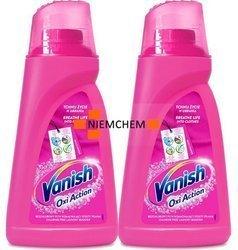 Vanish Oxi Action Pink Odplamiacz do Koloru Płyn 2 x 1L PL