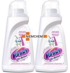 Vanish Oxi Action White Odplamiacz do Białego Płyn 2 x 1L PL
