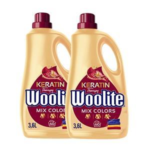 Woolite Mix Colors Płyn do Prania Kolorowego 120pr 2 x 3,6L