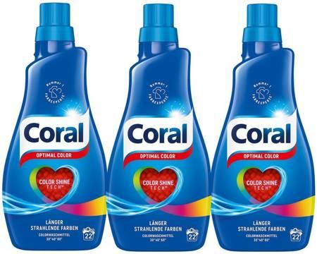 Coral Optimal Color Kolor Żel Prania 66pr 3,3L DE