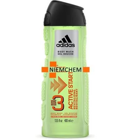 Adidas Active Start 3w1 Męski Żel i Szampon 400ml