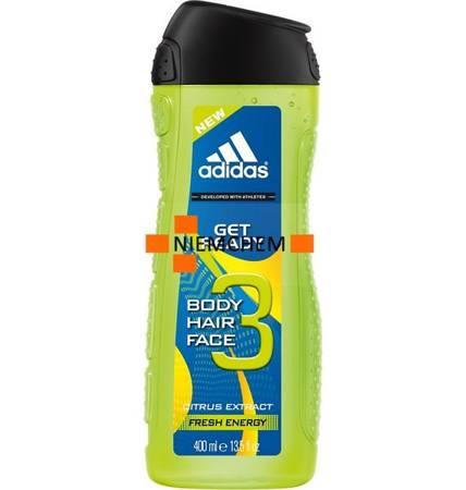 Adidas Get Ready 3w1 Męski Żel i Szampon 400ml