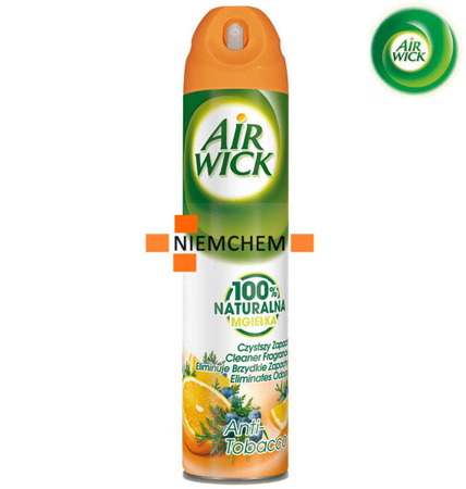 Air Wick Anti Tobacco Odświeżacz Spray 240ml