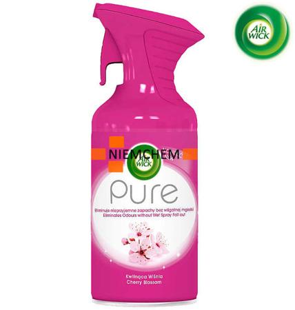 Air Wick Pure Kwitnąca Wiśnia Odświeżacz Spray 250ml