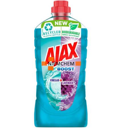 Ajax Boost Ocet Lawenda Płyn do Podłóg 1L