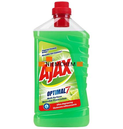 Ajax Optimal7 Lemon Cytryna Płyn do Podłóg 1L