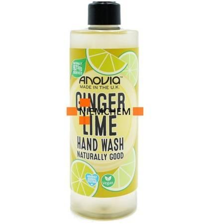 Anovia Ginger Lime Mydło w Płynie 350ml UK