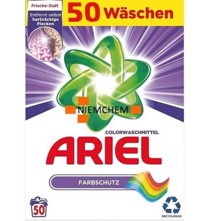Ariel Colorwaschmittel Proszek do Prania 50pr 3,25kg DE