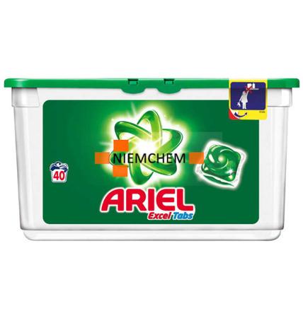 Ariel Excel Regular Kapsułki do Prania Białego 40szt BE WYPRZEDAŻ
