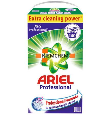 Ariel Regular Proszek do Prania Białego 140pr 9,1kg DE WYPRZEDAŻ