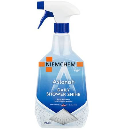 Astonish Daily Shower Shine Spray do Kabin Prysznicowych 750ml UK