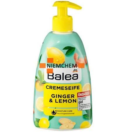 Balea Mydło w Płynie Ginger Lemon Pompka 500ml DE