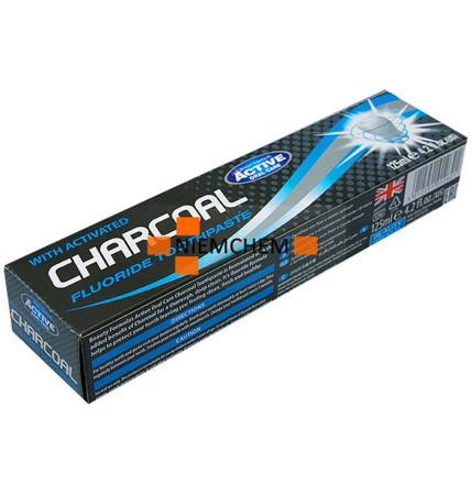 Beauty Formulas Charcoal Czarna Pasta do Zębów z Węglem 125ml UK