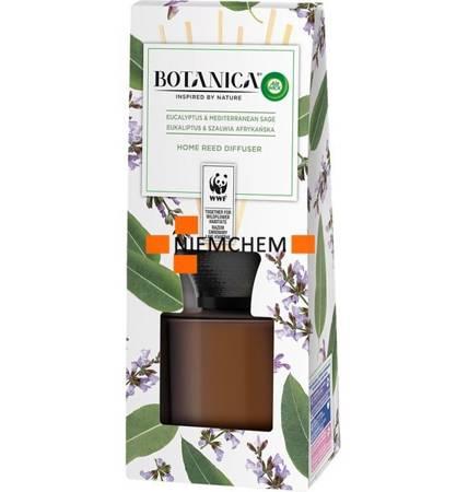 Botanica by Air Wick Patyczki Zapachowe Odświeżacz Eukaliptus Szałwia Afrykańska 80ml