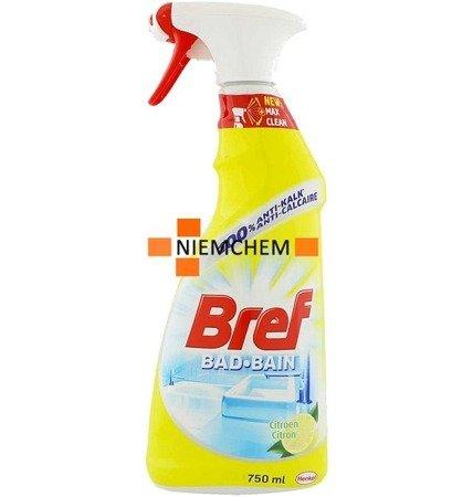 Bref Bad Bain Lemon Łazienek Prysznica 750ml BE