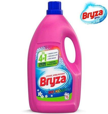 Bryza 4w1 Do Koloru Spring Freshness Żel do Prania na 75pr 4,95L