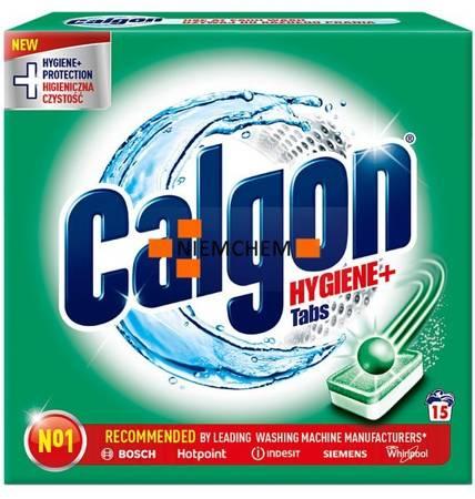 Calgon Hygiene+ Plus Tabletki Odkamieniacz do Pralki 15szt