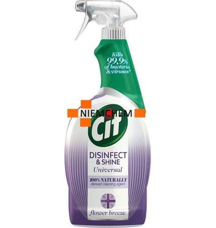 Cif Disinfect & Shine Flower Spray Antybakteryjny 750ml