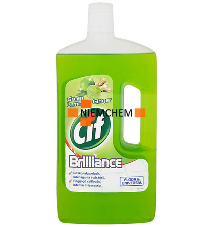Cif Floor Green Lemon & Ginger Płyn Mycia Podłóg 1L