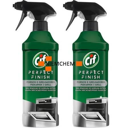 Cif Perfect Finish Piekarnik i Grill Spray do Czyszczenia 2 x 435ml