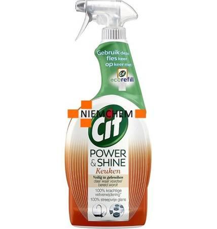 Cif Power & Shine Spray do Czyszczenia Kuchni 750ml DE