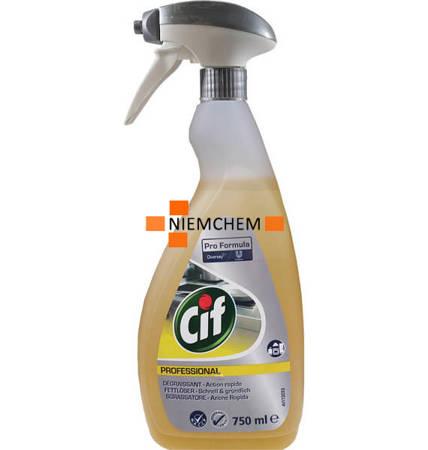 Cif Professional Fettloser na Tłuszcz Spray 750ml DE
