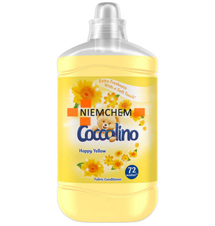 Coccolino Happy Yellow Płyn do Płukania 1,8L 72pr
