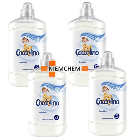 Coccolino Sensitive Pure Płyn do Płukania 7,2L 288pr