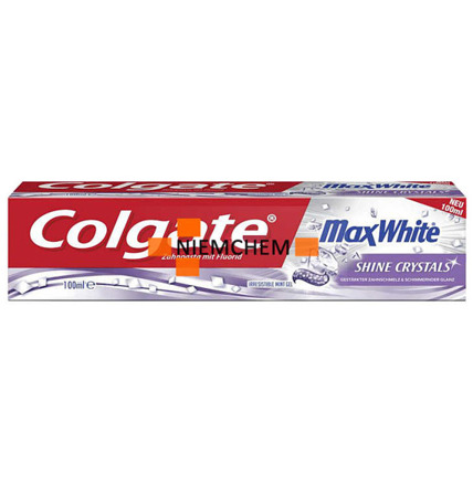 Colgate MaxWhite Shine Crystals Pasta Zębów 100ml DE