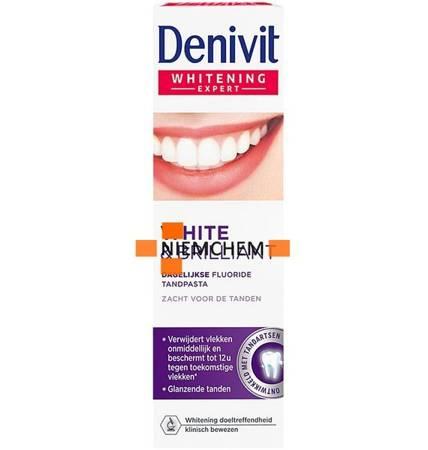 Denivit White Brillant Pasta Zębów Wybielająca 50ml FR