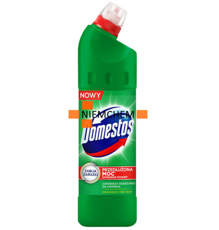 Domestos Pine Fresh WC Żel Toalety z Chlorem 750ml