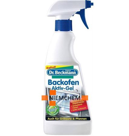 Dr. Beckmann Aktywny Żel do Czyszczenia Piekarnika Spray 375ml DE