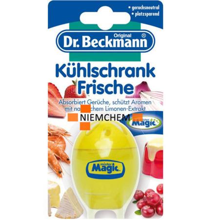 Dr Beckmann Limonka Pochłaniacz Zapachów do Lodówek WYPRZEDAŻ