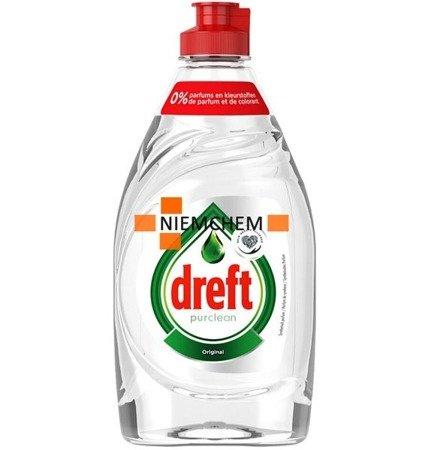 Dreft Pure & Clean Płyn do Mycia Naczyń 383ml BE