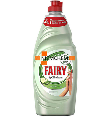 Fairy Balsam Aloes Ogórek Płyn do Naczyń 625ml DE