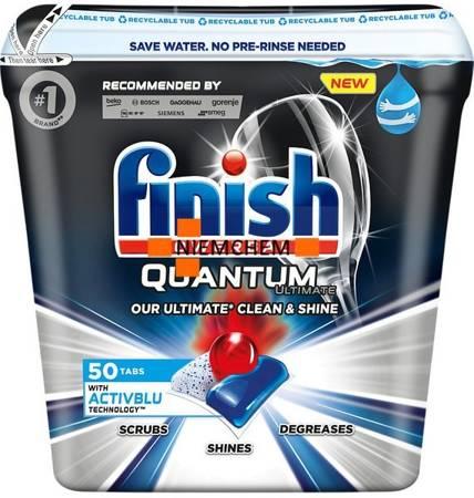 Finish Quantum Ultimate ActivBlu Regular Kapsułki do Zmywarki 50szt