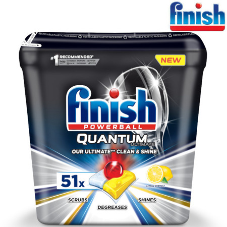 Finish Quantum Ultimate Lemon Kapsułki do Zmywarki 51szt
