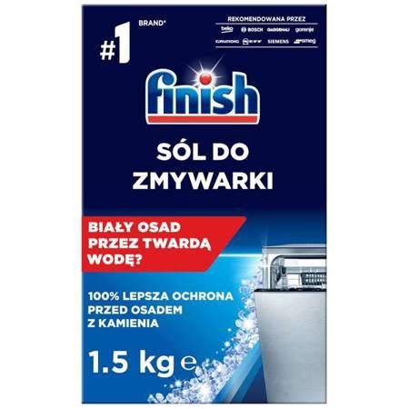 Finish Sól do Zmywarki Zmiękczająca Wodę 1,5 kg