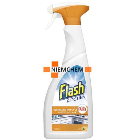 Flash Kitchen do Czyszczenia Kuchni Cytusowy Spray 500ml UK
