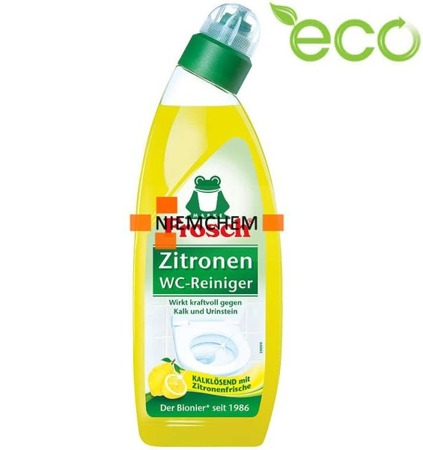 Frosch Zitronen Żel do WC Cytrynowy 750m ECO