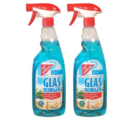 G&G Glas Reiniger Płyn do Mycia Szyb 2 x 1L = 2L DE