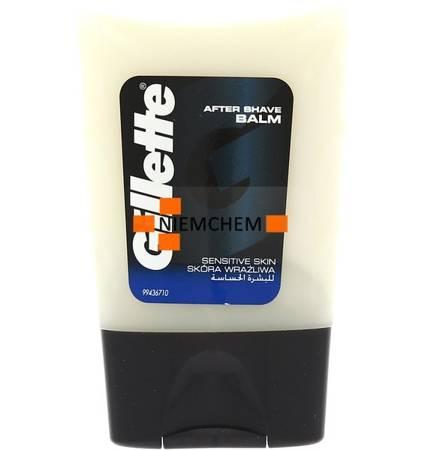 Gillette After Shave Sensitive Balsam po Goleniu do Skóry Wrażliwej 75ml