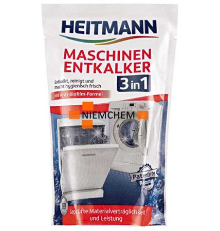 Heitmann Entkalker Odkamieniacz Czyścik do Pralki i Zmywarki 175g DE