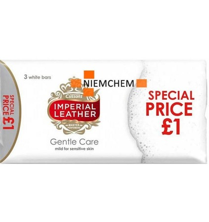 Imperial Leather Gentle Care Mydło Kostka 3x 100g